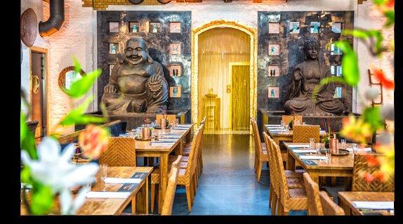 Nordbahnhof Two Buddhas Restaurant Und Eventlocation